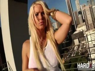 Deliciously Blonde Chick Anikka Albrite Gets Hardcore Doggystyle