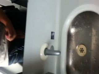Wanking In Train Toilet On The Way To Berlin