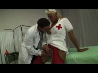 Shemale Nurse Hot Fucking And Sucking With Guy