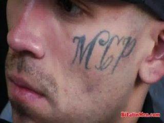 Thug Latino Jerking Off