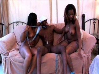Treasure And Rayven - Chocolate Fondue Threesome