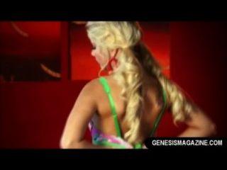 Sexy Blonde Jana Jordan Dildo Masturbating