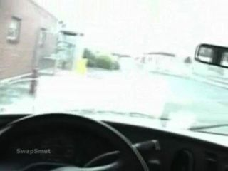 Middle Of The Parking Lot Getting Dick Sucked By Mistress In Vehicle