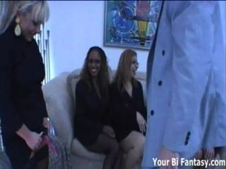 Secretaries Strapon Gangbang Their Asshole Boss