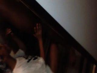 Beautiful Ebony Gives Amazin Blow Job After Her Boyfriend Leaves