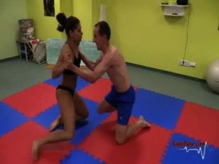 Skylar Rene Mixed Wrestling