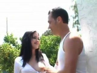 Crystal Clear Goes Next Door And Gets Fucked By Four Guys