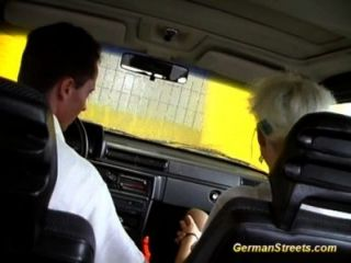 Pickup German For Backseat Facial