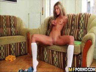 Skinny Blonde Is A Freak Victoria Tiffani 2