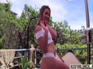 Gorgeous Abby Cross Gets Pussy Fucked By Her Hot Boyfriend With A Huge Prick