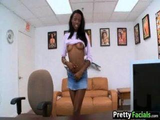 Hot Black Girl Facial Video Tiffany Tailor 1.01