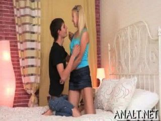 Wild Anal Pumping For Alluring Hottie
