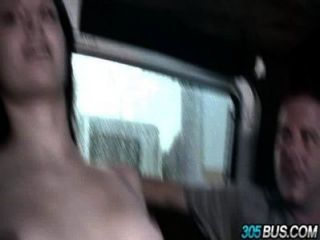 Redhead Sage Evans Fucked Then Thrown Off The Bus.2