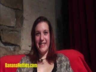 Horny Teen Plays With A Dildo And Gets Oral At A Casting!