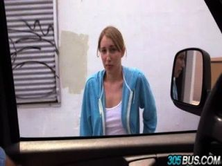 Ho Teen Blonde Fucked In The 305bus Riley Reynolds.1