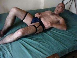 Pissing The Bed In Panties Stockings And Suspenders