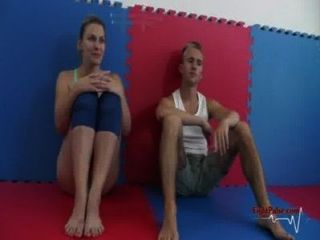 Viktoria vs david competitive mixed wrestling 3