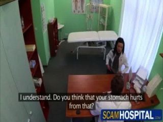 Brunette Patient Inga Gets Rammed By Her Doctor In The Examining Table