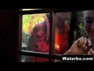 Kinky Gal Taking Pee Hardcore Sex
