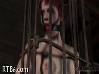 Stripping Inside A Diminutive Steel Cage