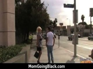 Monster Black Cock Bangs My Moms White Pussy 4