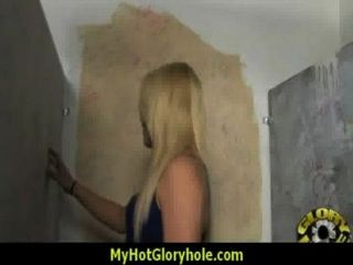 Sexy Wild Lady Deepthroats At Gloryhole 6