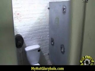 Hottie Sucks And Fucks Black Cock For Cusmhot At Gloryhole 1