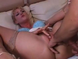 Javrar.us Blonde Seed Sluper Gets Pussy-fingerred By A Guy