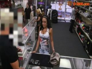 Big Boobs Latina Fucked With Pawn Man At The Pawnshop