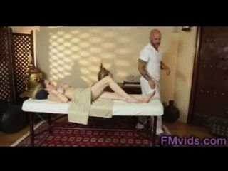 Big Boobs Blonde Riding Cock After Massage