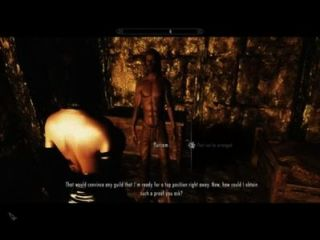 Skyrim- Sexy Times In The Prison Cell - Naughty Machinima
