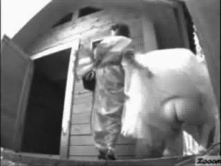 Bride Pissing Outdoor