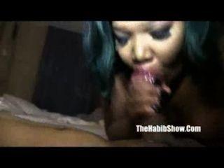 Sexy Bbw Chocolate Dick Sucking Pussy Nut