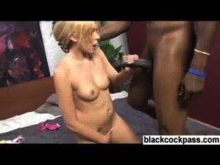 Beautiful Blonde Slut Fucked Hard By Bbc