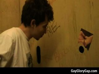 Gloryhole - Nasty Gay Dudes Give And Take Wet Handjobs 20
