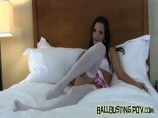 How Do You Like Getting Your Balls Busted By A Schoolgirl?