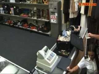 Stewardess Sells Her Stuff And Pounded In The Pawnshop