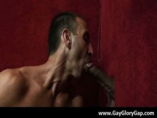 Gloryhole With Nasty Gay Dudes And Wet Handjobs 29