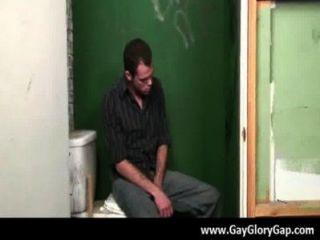 Gay Black And White Dudes Gloryhole Sex Porno 31