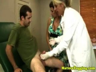 Hj Loving Old Nurses Jerking Dick