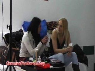 Czech Girls Having Fun In Backstage