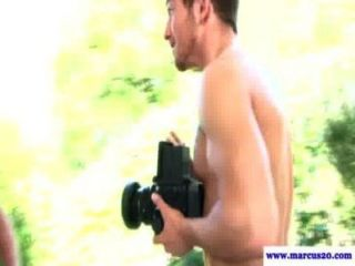 Straight Guys Outdoor Gay Experiment