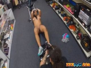 Latina Fucked And Jizzed Over Her Face In Pawn Shop