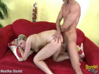 Blonde Heather Starlet Fuck A Giant Cock