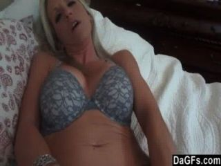 Milf Begins With A Toy And Finishes With My Cock