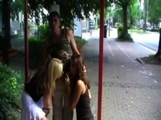 German Crazy Man Fucks A Girl Outdoor