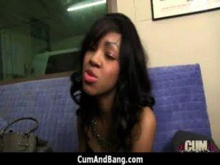 Ebony Girl Gets Slammed By Some White Dudes 2