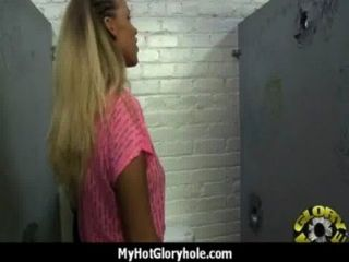 Sexy Wild Lady Deepthroats At Gloryhole 2