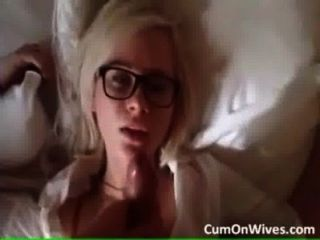 Hot Blonde Girl Gets Facial. Who Is She?