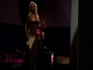 Leopard Print Gown(iphone)